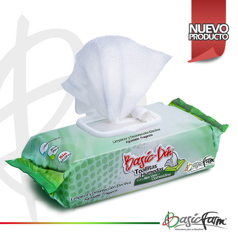 basicdin toallitas humedas