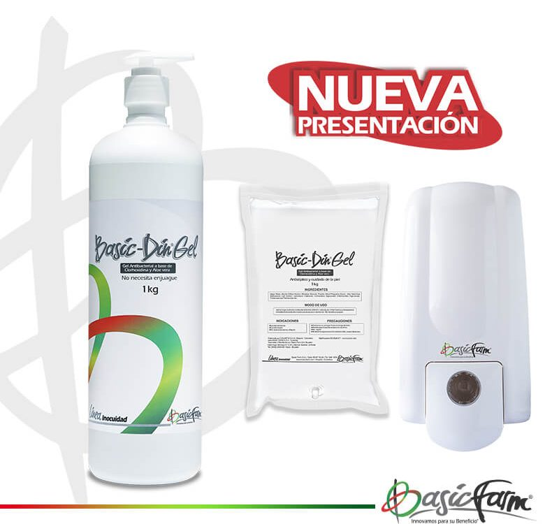 Basic-Din Gel Antibacterial